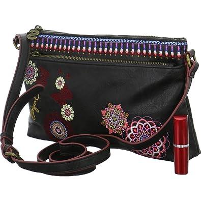 Amazon.com: Bolsa de diseño DURBAN hembra negra – 19SAXPB2 ...