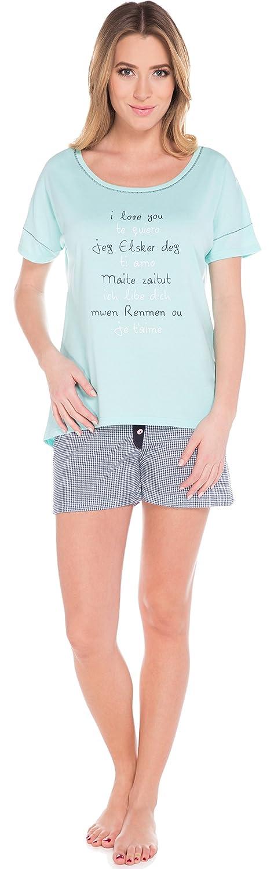 Italian Fashion IF Pigiama Donna Corto R573 0227