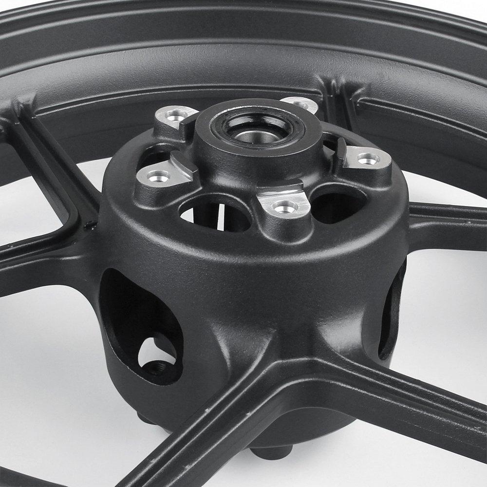 Artudatech Front Wheel Rim For Kawasaki ER6N 2006-2012 ZX10R 2004-2005 Black by Artudatech (Image #1)