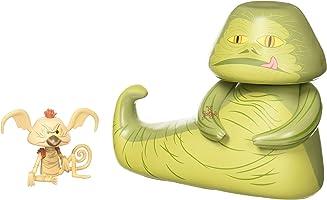 Funko Vynl: Star Wars - Jabba & Salacious Crumb Collectible Figure, Multicolor