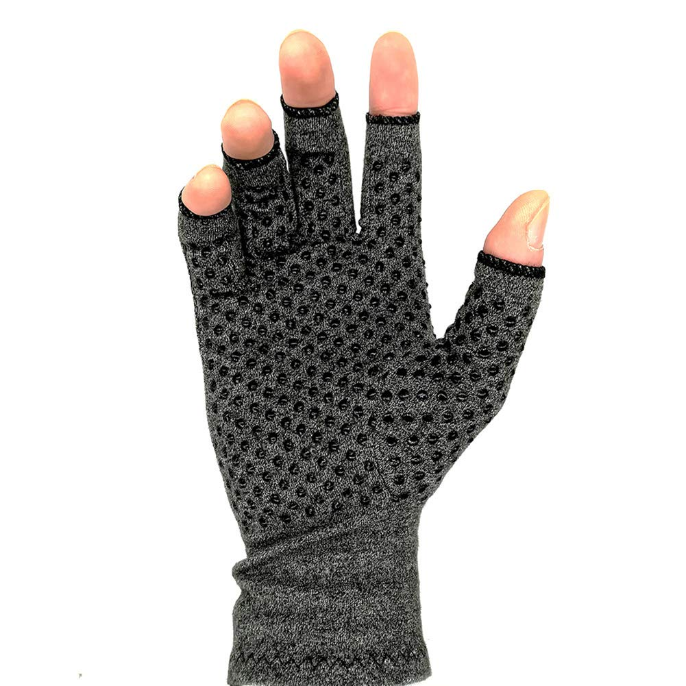 Arthritis Gloves Compression for Pain Relief Osteoarthritis Finger Joint, Relieve from Rheumatoid,RSI, Men Women (2 Pairs),M
