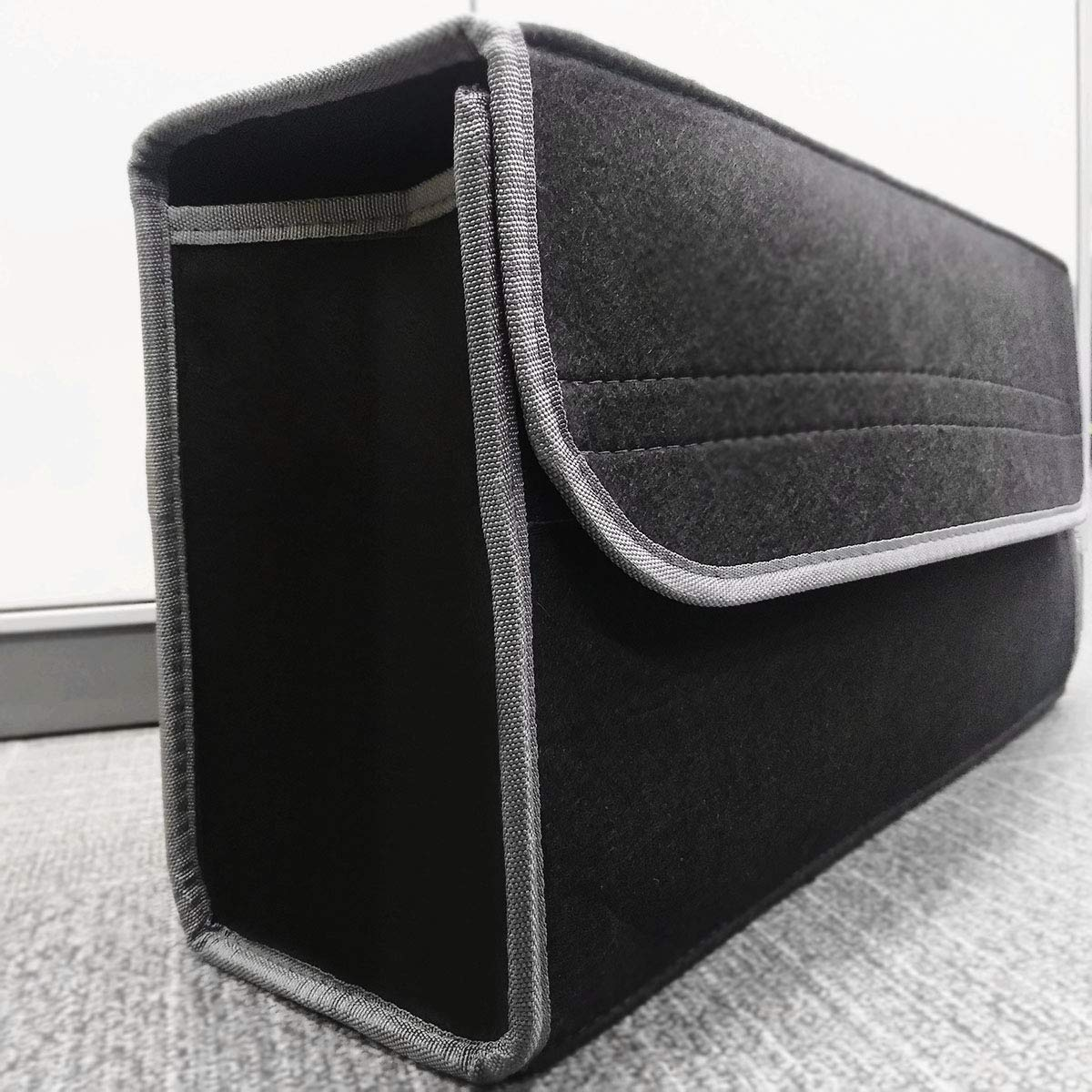 MultiWare Car Boot Storage Organiser Car Boot Tidy Bag Black