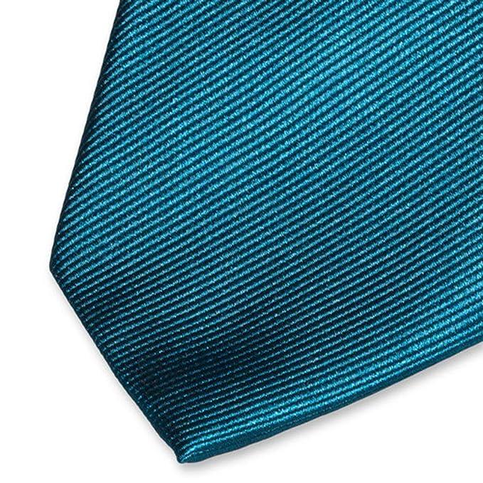 Accessoirespezialist.de - Corbata - para hombre Azul petróleo ...