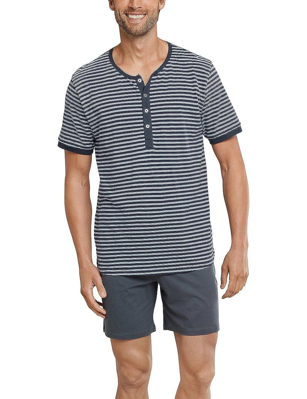 Schiesser Anzug Kurz, Pantalones de Pijama para Hombre