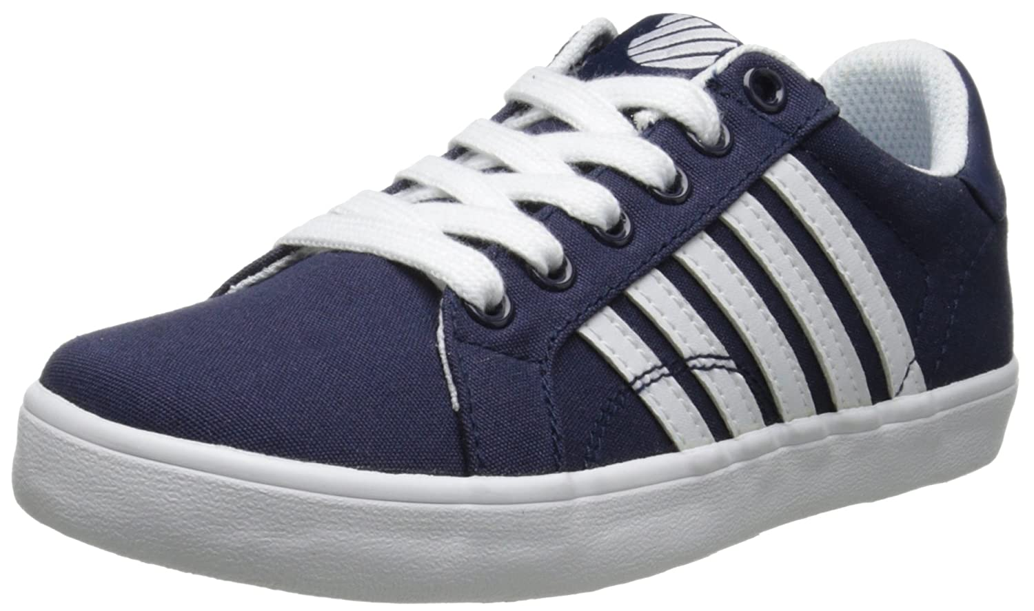 K-Swiss Belmont Textile PS Tennis Shoe (Little Kid) BELMONT TEXTILE PS - K