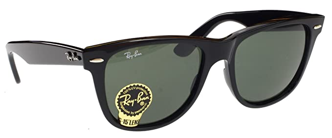 81eda3a963 Image Unavailable. Image not available for. Color  Ray Ban Original  Wayfarer Sunglasses ...