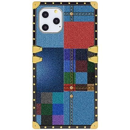 Amazon Com Denim Wallpaper Square Corner Case Compatible