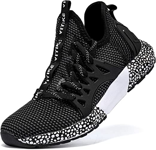 Garçon Fille Chaussure de Course Chaussures de Outdoor Sneakers Mode Basket Chaussure de Course Sport Walking Shoes Running Compétition Entraînement