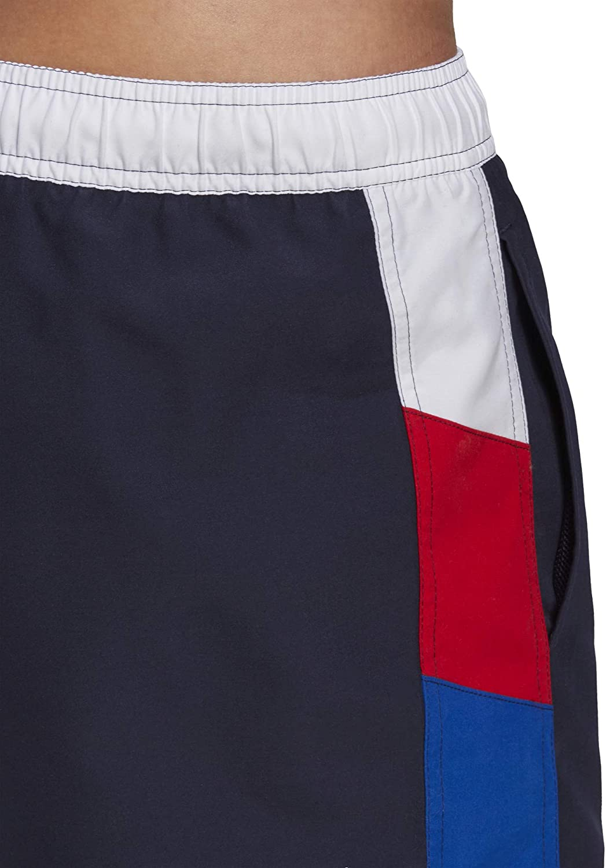 adidas CB Cx Sh S, Costume da Nuoto Uomo bianco