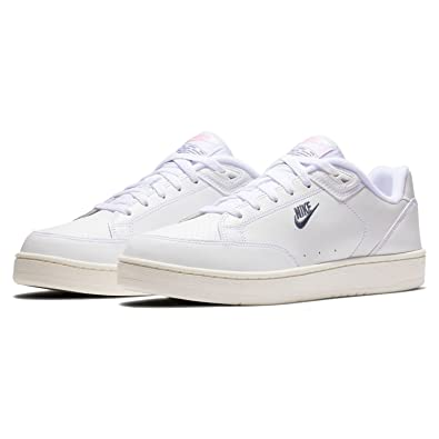reputable site 9e5d5 48b55 Nike Grandstand II Chaussures de Fitness pour Homme, White Navy-SAIL-Arctic