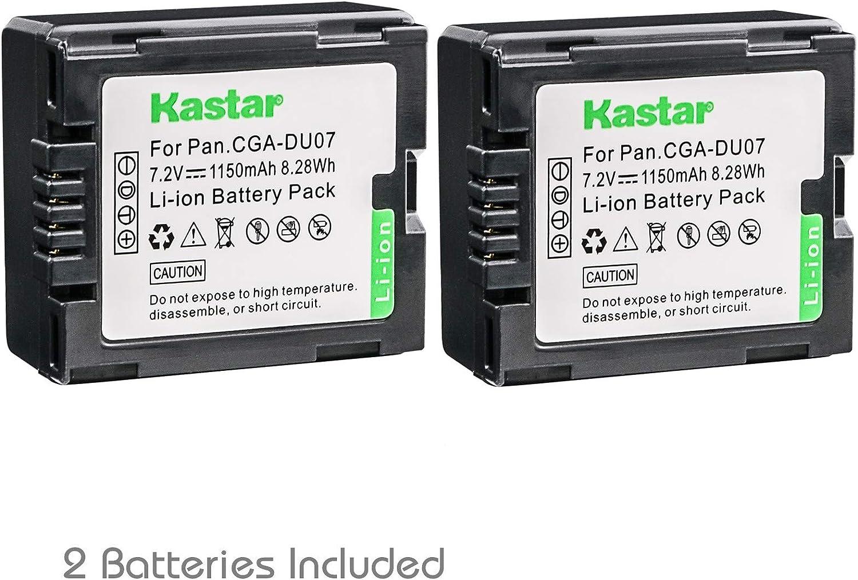 CGA-DU07 Battery Charger For Panasonic Lumix NV-GS65 NV-GS70 NV-GS75 NV-GS78