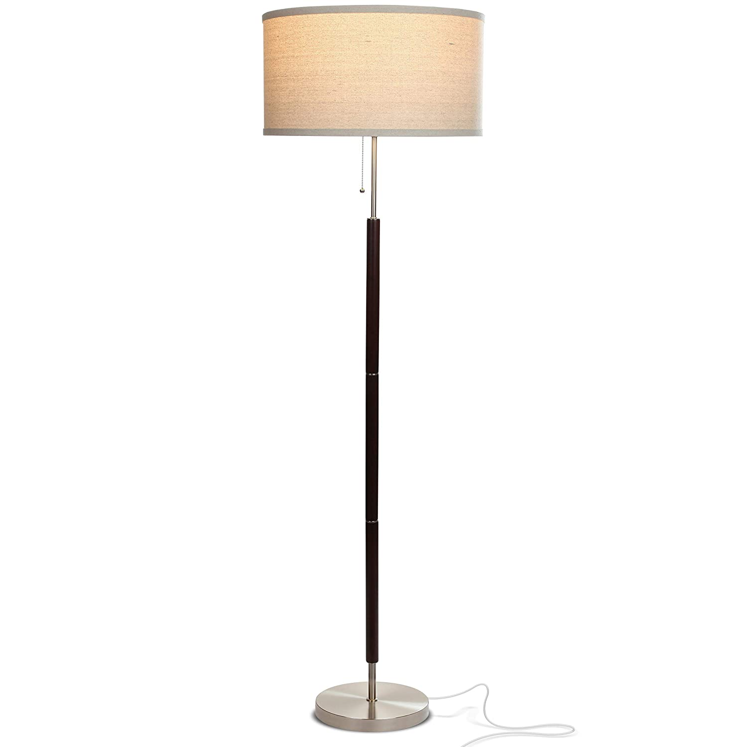 Brightech Carter Led Mid Century Modern Floor Lamp Contemporary
