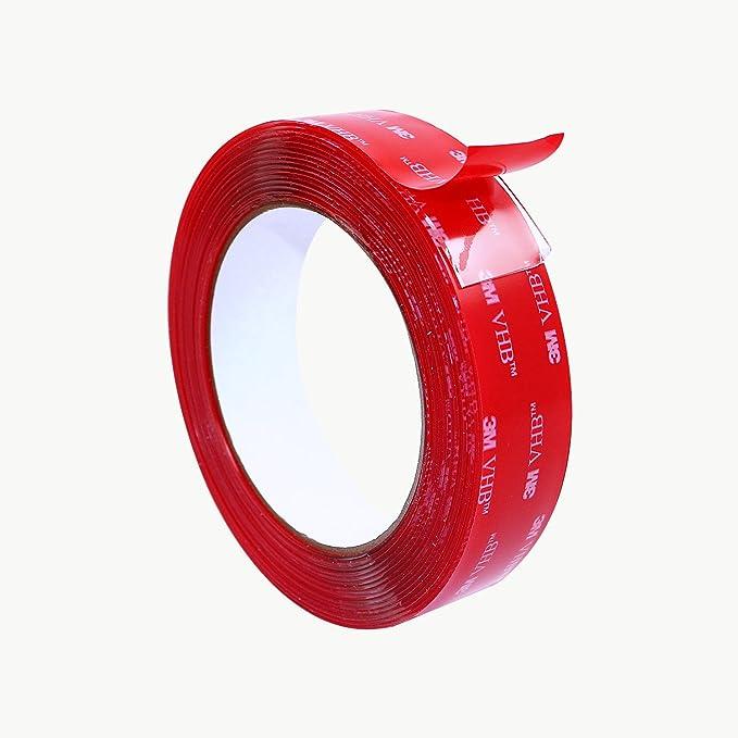 10cmx10cmx1mm Clear 3M VHB 4910 Acrylic Foam Double Sided Adhesive Tape