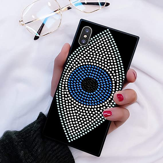 evil eye iphone xs case