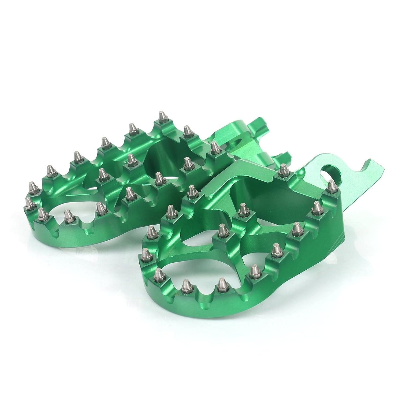 TARAZON Aluminum CNC Footpegs Foot Pegs Pedal Rest F700GS 2013 2014 F800GS 2008-2013 F700 F800 GS