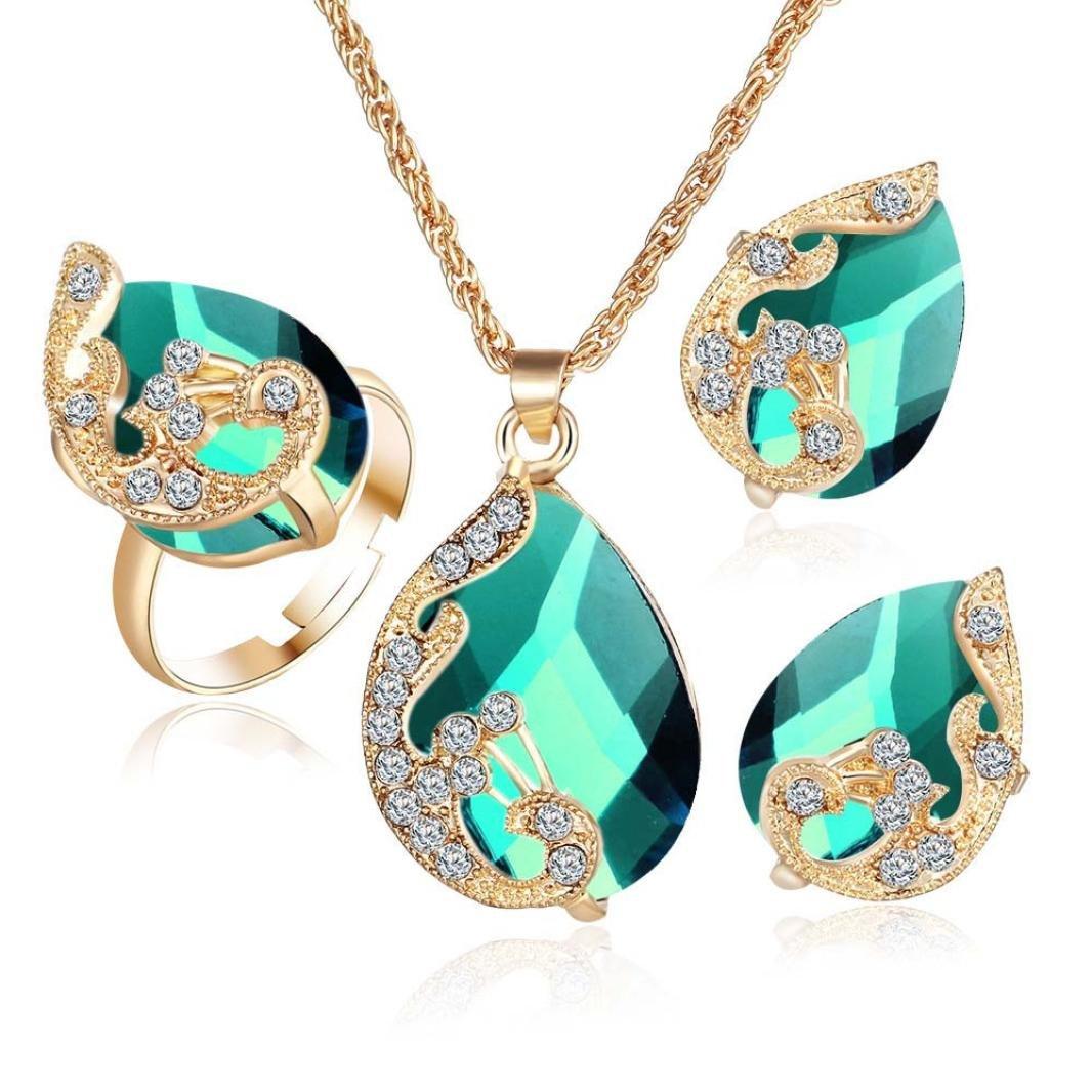 Bohemia Color Bib Chain Jewelr...