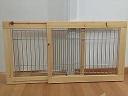 trixie 3944 hunde absperrgitter f r treppen und t ren 63 108 x 50 x 31 cm haustier. Black Bedroom Furniture Sets. Home Design Ideas