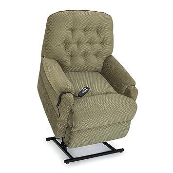 amazon com seatcraft harmony green fabric lift recliner power