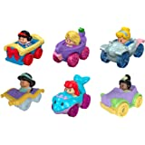 Fisher-Price Little People Disney Princess Wheelies Giftset