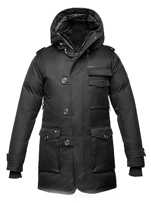 238356eb3 Nobis Men's Shelby Parka Jacket Down Coat