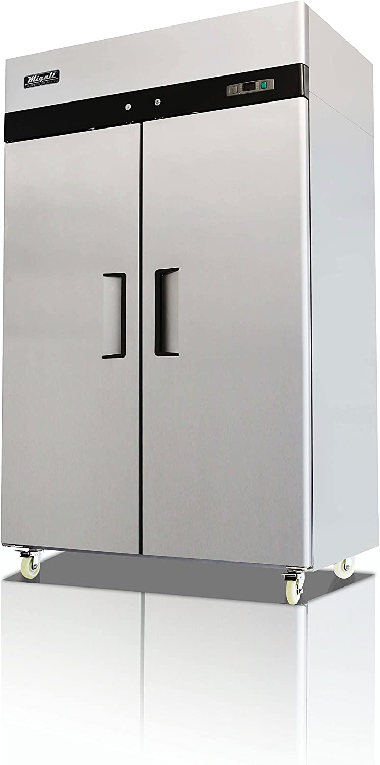 NEW-Migali-C2-F- 2 Door Reach in Freezer