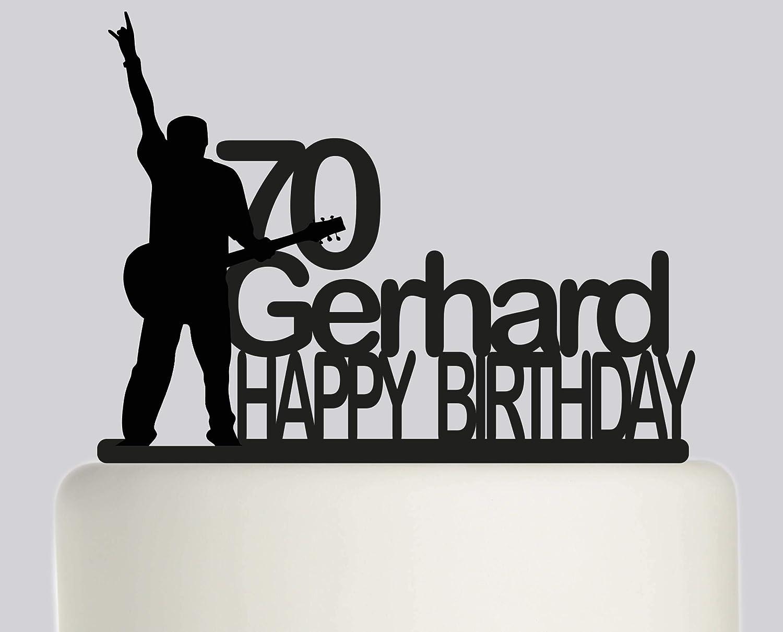 Decoración para tarta de cumpleaños – Guitarra eléctrica para ...