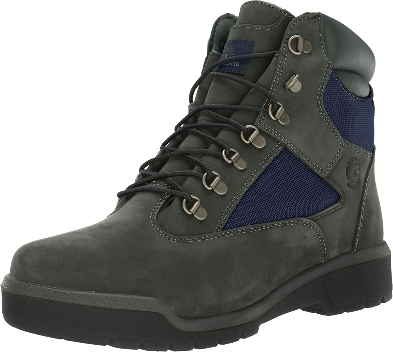 Timberland 6 Men's Field Boots Dark Grey Blue tb0a1rf5