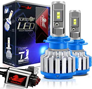WinPower H7 LED Headlight Bulbs Conversion Kits CREE Chip 7200LM 6000K White Light -2 Yr Warranty