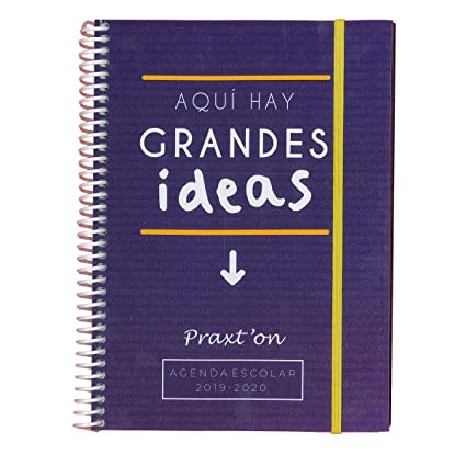 Agenda Escolar PRAXTON Frases, Din-A5 2D/P 2019/20 (IDEAS ...