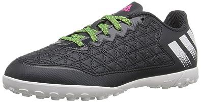 4a99512d9 Adidas Kids Ace 16.3 Cg J Dkgrey Grey Sgreen Turf Soccer Shoe 3.5 Kids