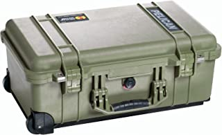 product image for Pelican 1510 Case With Padded Dividers (OD Green), Olive Green (015100-0040-130)