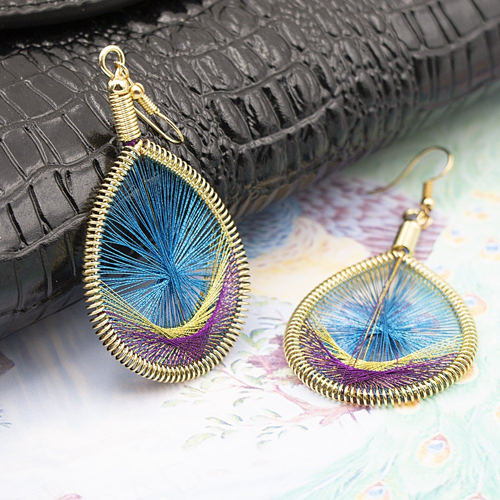 GeniuR Ethnic Style Earrings for Women Handcraft earrings for Girls