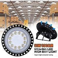 UFO LED Iluminación, WZTO 5000LM 50W Techo