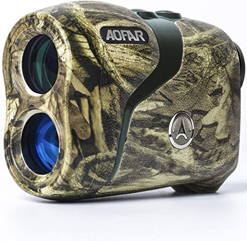 AOFAR H3 Hunting Range Finder 800 Yards, Wild Waterproof Coma Rangefinder for Shooting and Archery with Angle and Horizontal Distance