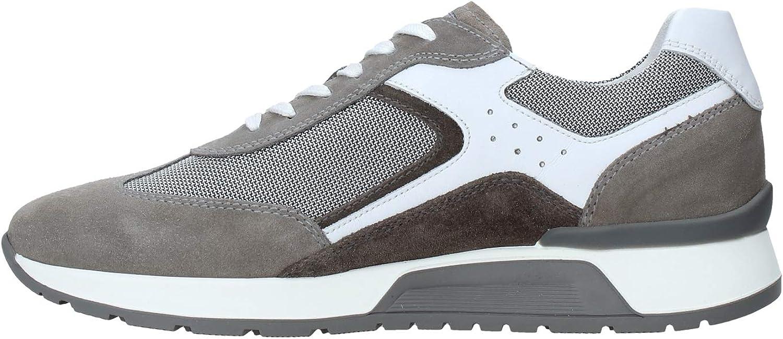 Nero Giardini en Cuir Sneaker Hommes de Fumer ou de l'eau E001483U. Design raffiné Sneaker. Collection Printemps Eté 2020 Tabagisme