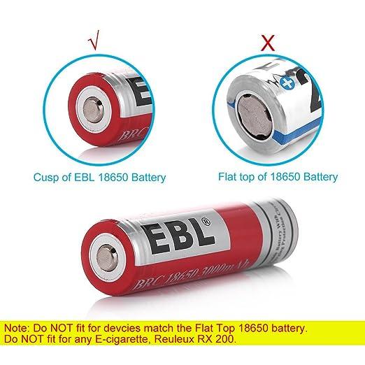 best 18650 Rechargeable Batteries ebl