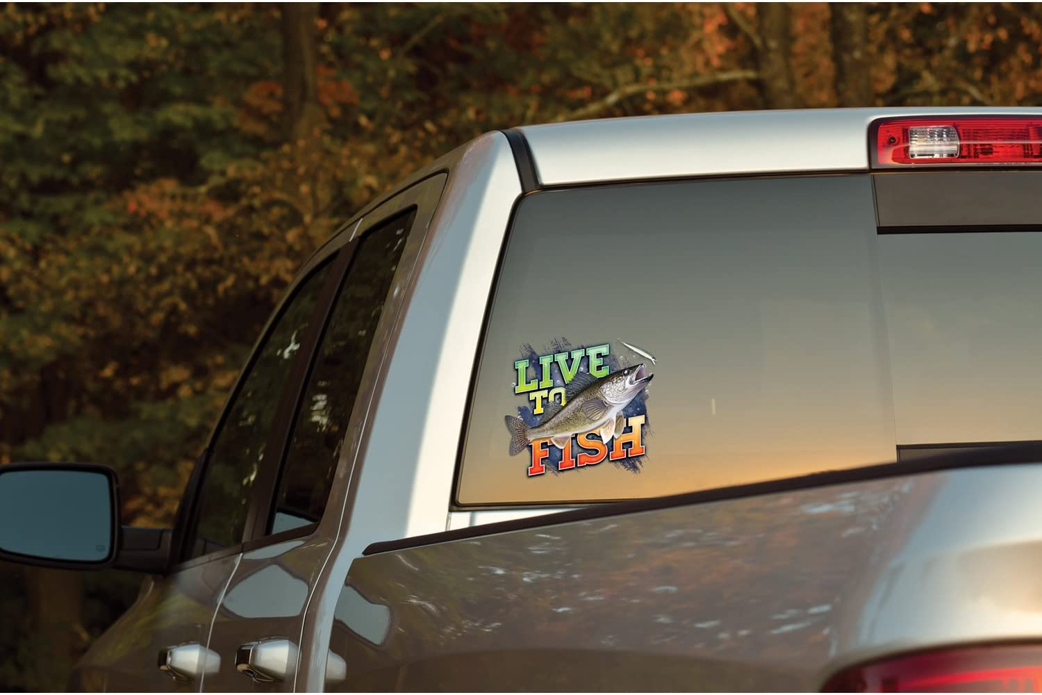 Many Patterns No-fade Hi-Def Mossy Oak Graphics Live To Hunt Decal Easy to Install Matte Finish Cast Vinyl