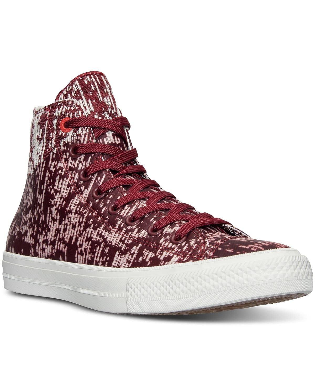 Zapatillas de deporte unisex Chuck Taylor All Star II Hi Top (11.5 D (M), Red Block / Buff): Amazon.es: Zapatos y complementos