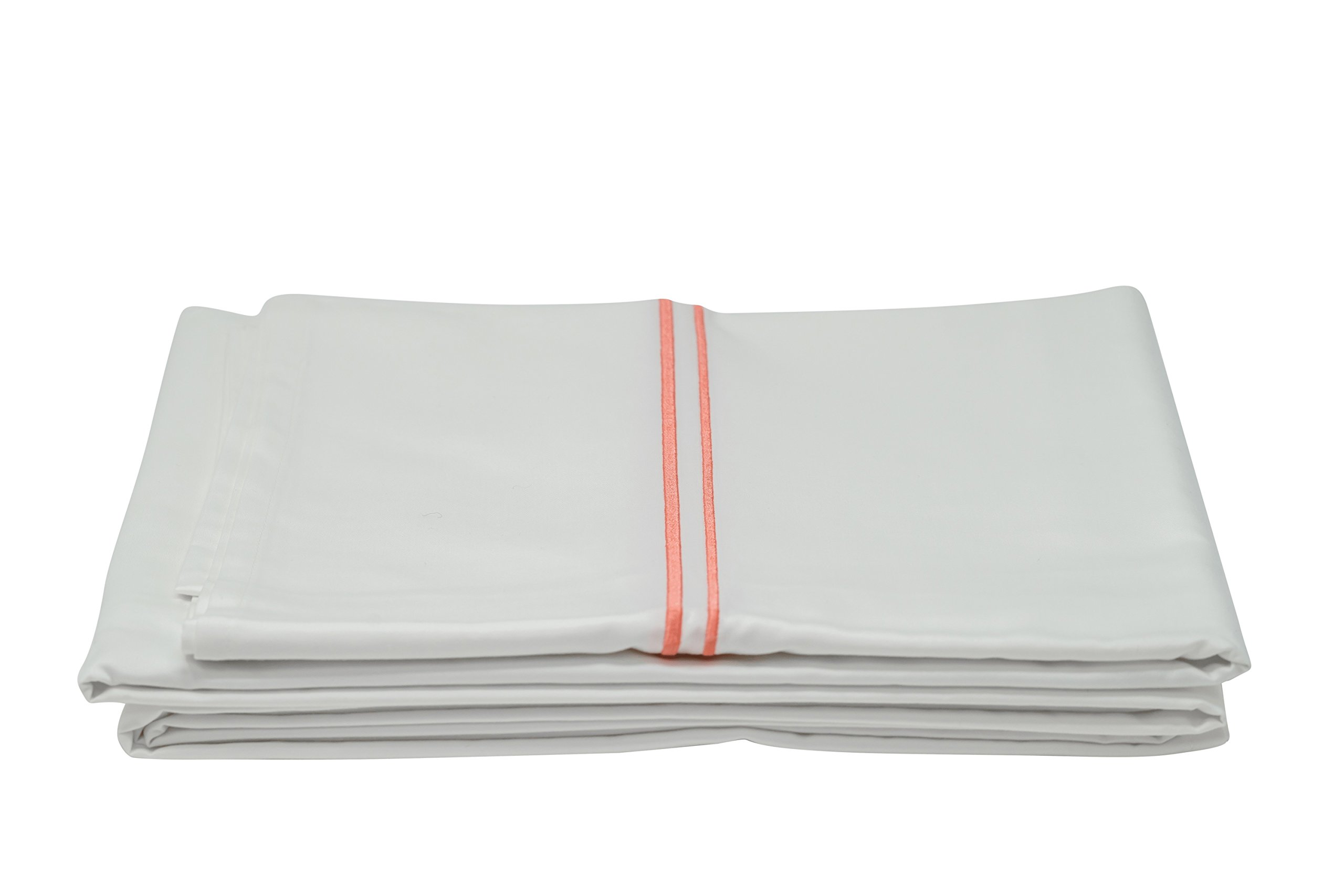 Modern Zinc Sheet Set - Innovative Antibacterial Zinc Infused Bedding - Luxuriously Soft 400 Thread Count Cotton (Queen/White) by Modern Zinc (Image #5)