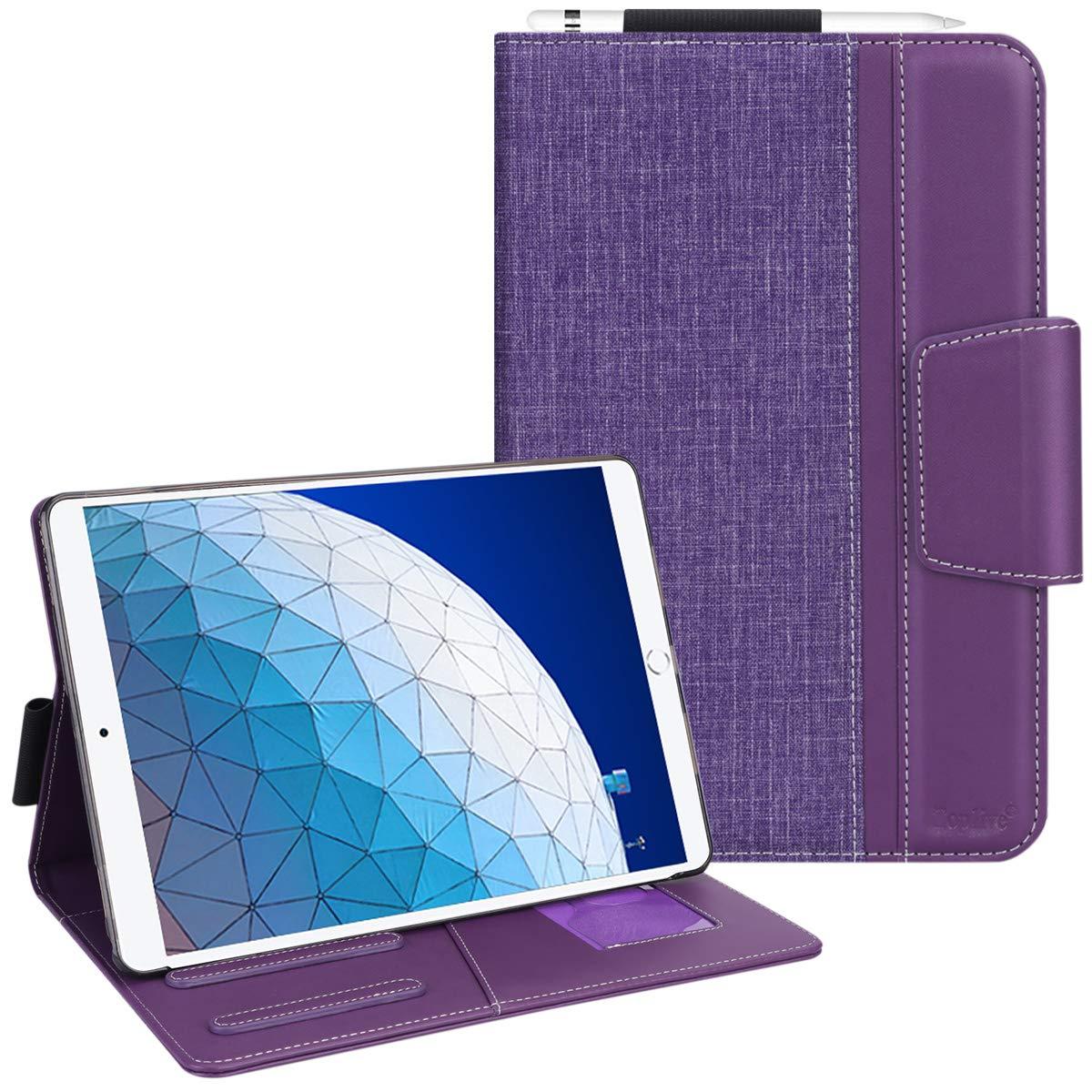 最も  Toplive iPad Air 3ケース 10.5インチ2019 スタンドフォリオケースカバー iPad Air 第3世代 パープル Toplive 第3世代 2019 iPad Pro 10.5インチ2017用 自動スリープ/ウェイク機能付き 複数の視野角 パープル TL-1975A-IP105-Air3-US-Purple パープル B07R4XDXRN, オートスナック:42e9c9d4 --- a0267596.xsph.ru