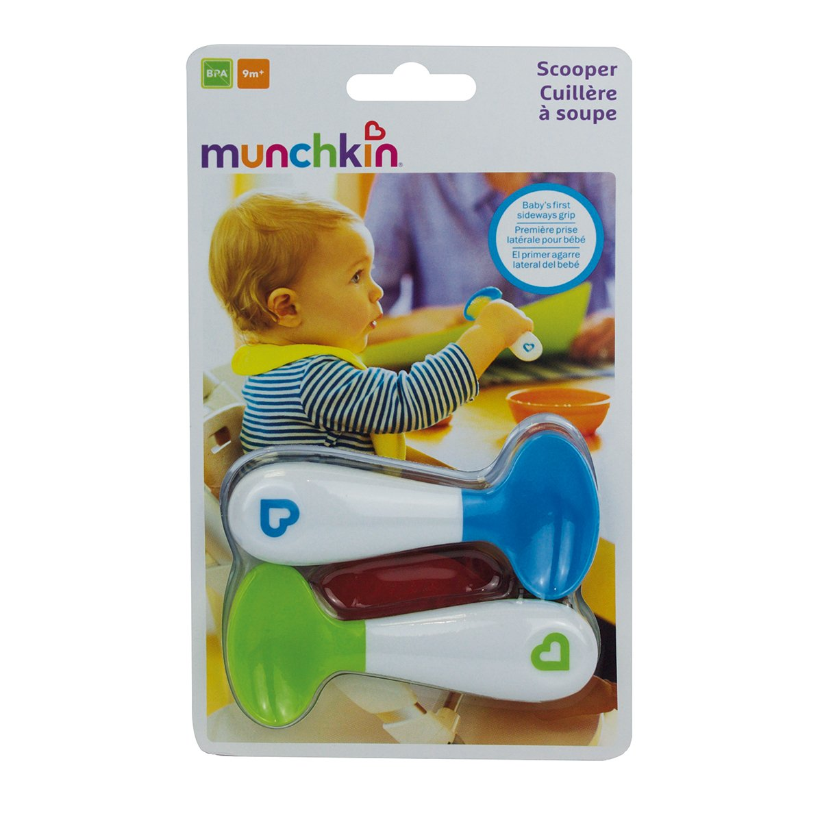 munchkin Scooper Spoon Set de 2 Cuill/ères