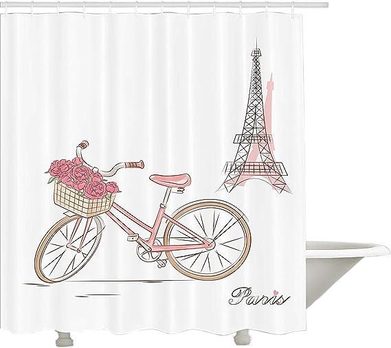 Yeuss Colección de decoración Vintage, Bicicleta Vintage con Rosas ...