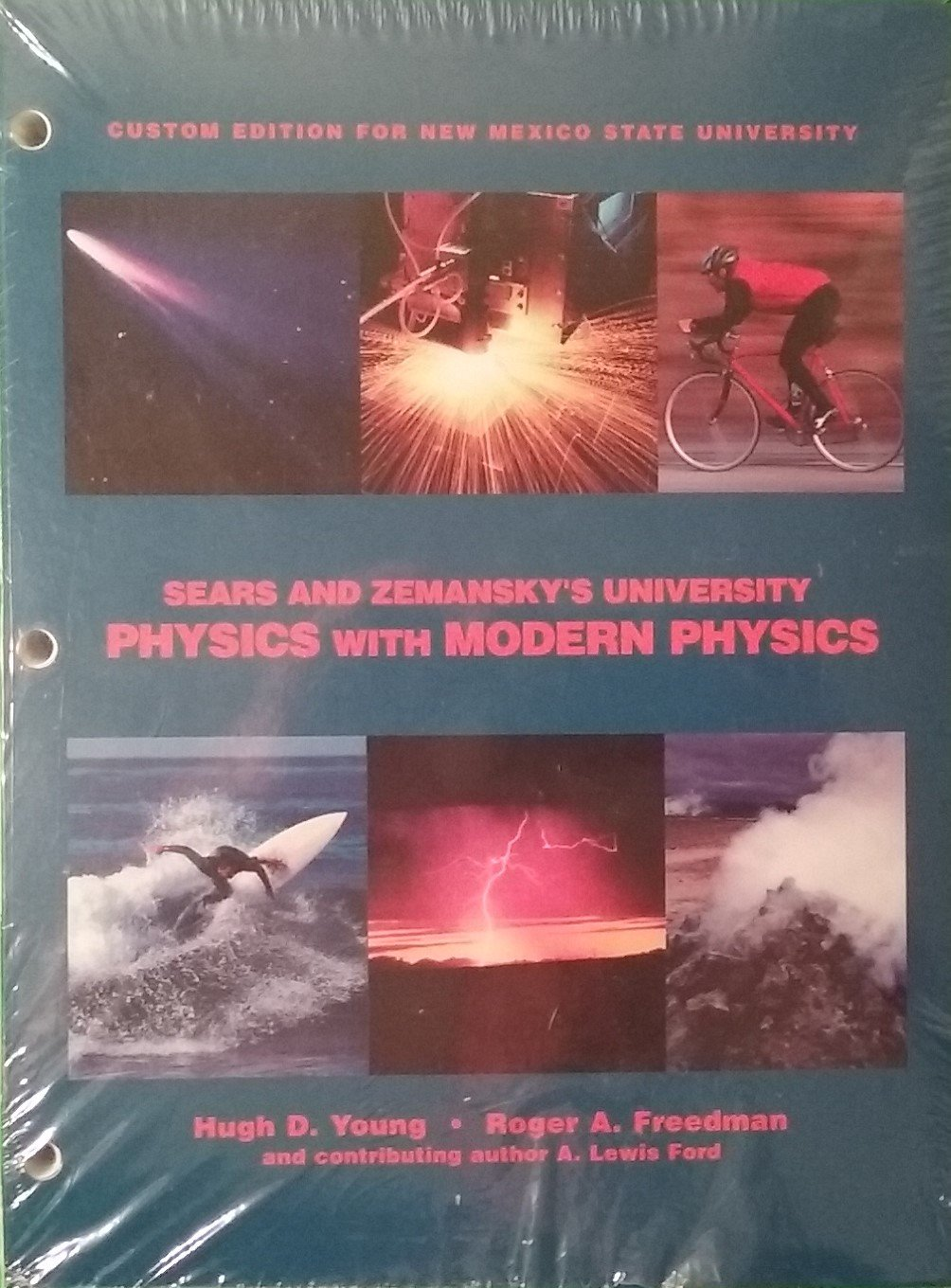 Sears and Zemansky's University Physics with Modern Physics Custom Edition for New Mexico State University plus Mastering Physics Student Access Kit Twelfth Edition pdf epub