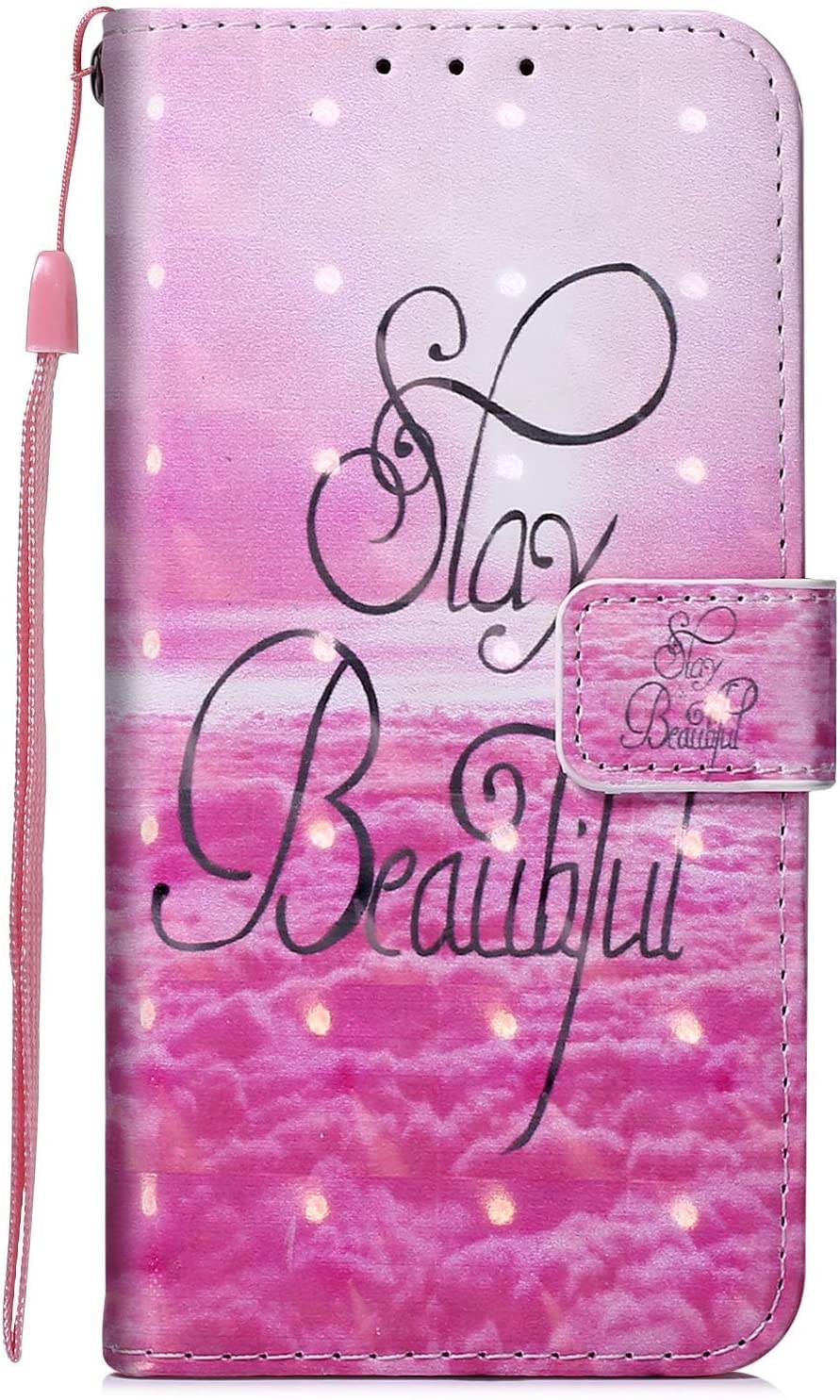 Herbests Compatible with Huawei Honor 20 Pro Case Luxury Bling Glitter Sparkle Girls Women Cute Wallet Case Folio Flip Cover with Card Holder Magnetic Kickstand,Gold Butterfly