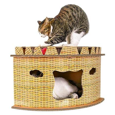 Ridecle Cat Scratcher Cat Litter Cat House Diy Cat Kitten