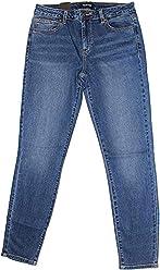 Buffalo David Bitton Womens Mid-Rise Super Soft Capri Jeans