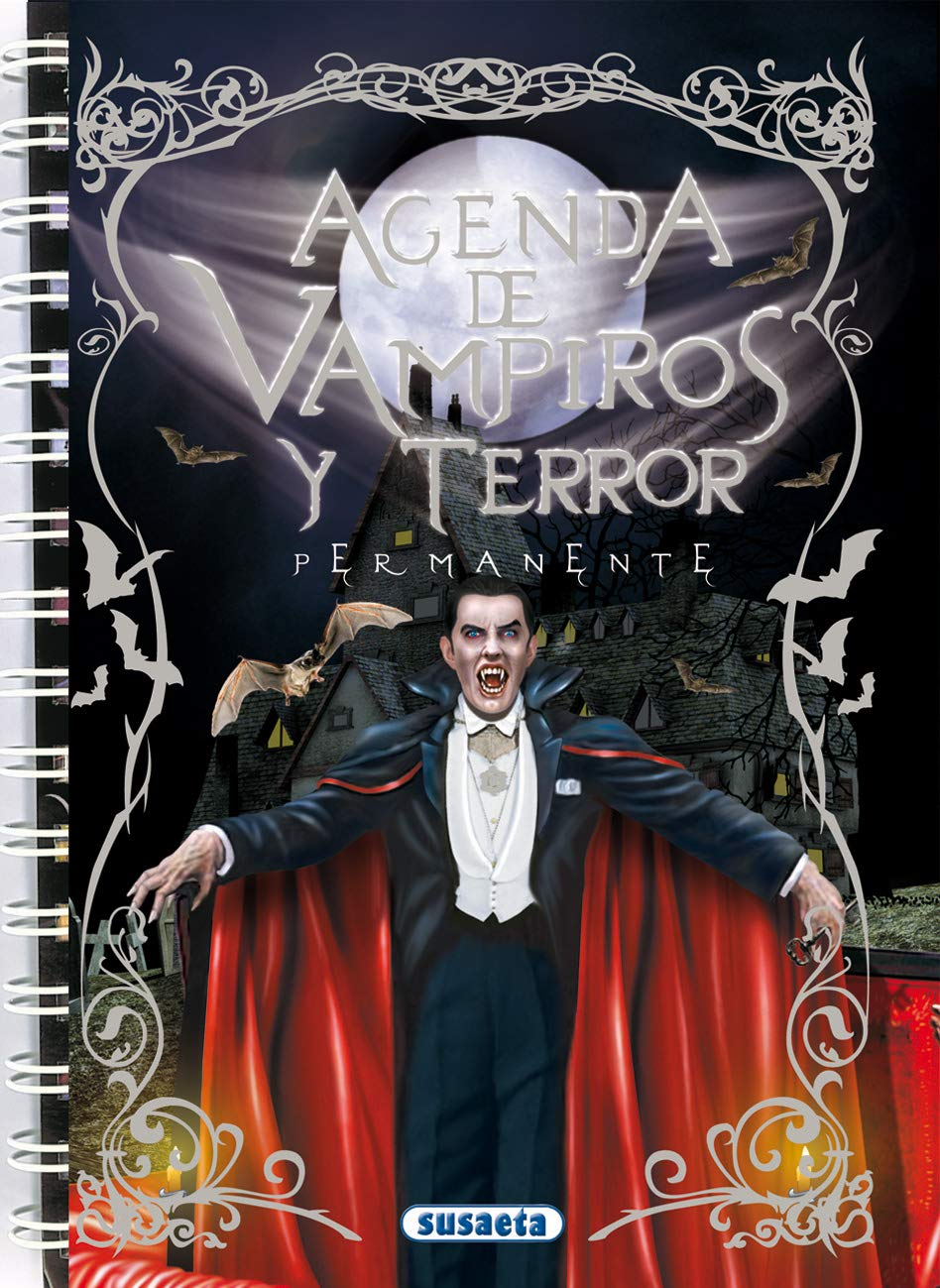 Agenda escolar permanente - Vampiros y terror Agenda De ...