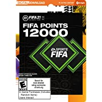 FIFA 21 Ultimate Team FIFA Points 12000 - PC [Online Game Code]