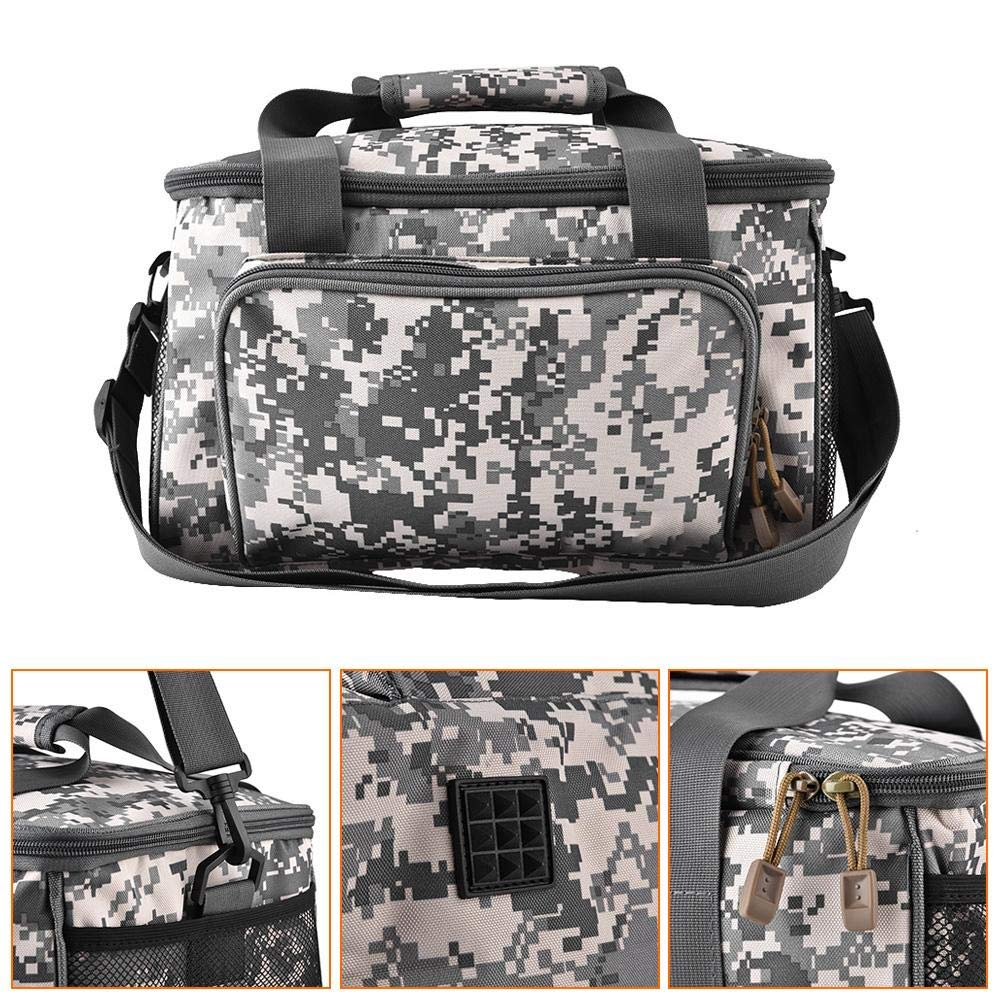 Multifunctional Large Storage Tackle Pack Square Aslant Canvas Bag Fishing Accessory Zer one Tackle Bag,Outdoor Fishing Tackle Box Bag