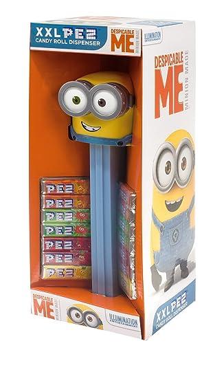 PEZ Dispensador XXL Minions + 14 caramelos PEZ á 8,5 g